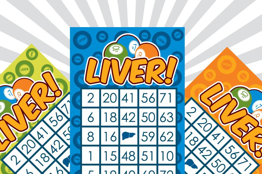 Liver Bingo Card